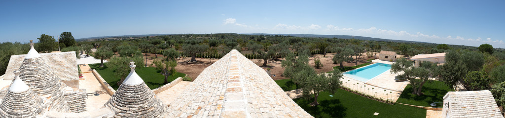 1 Panoramica L'Antica Dimora - Trulli Oasi Fiorita