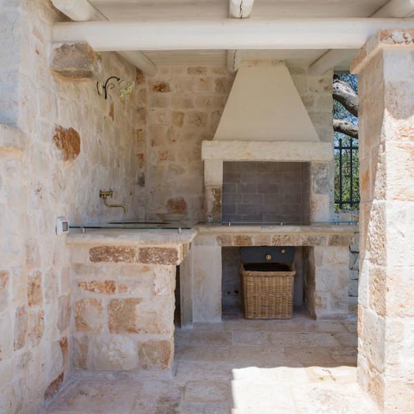 Barbecue in muratura - L'Antica Dimora