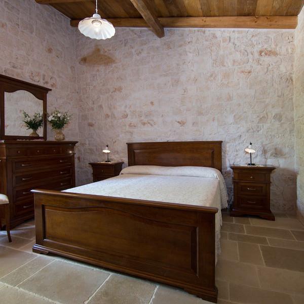 Trullo Gerbera: Camera Matrimoniale