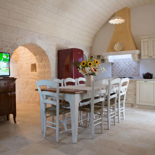 Cucina - Sala da Paranzo L'Antica Dimora