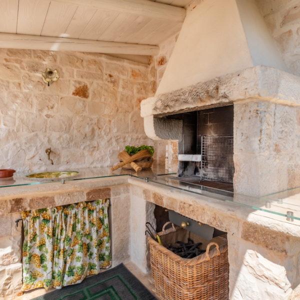 Barbecue L'Antica Dimora - Trulli Oasi Fiorita