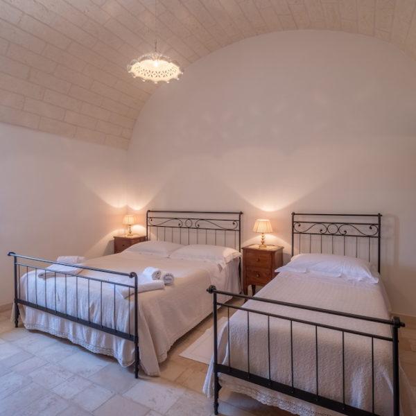 Camera tripla con bagno L'Antica Dimora - Trulli Oasi Fiorita