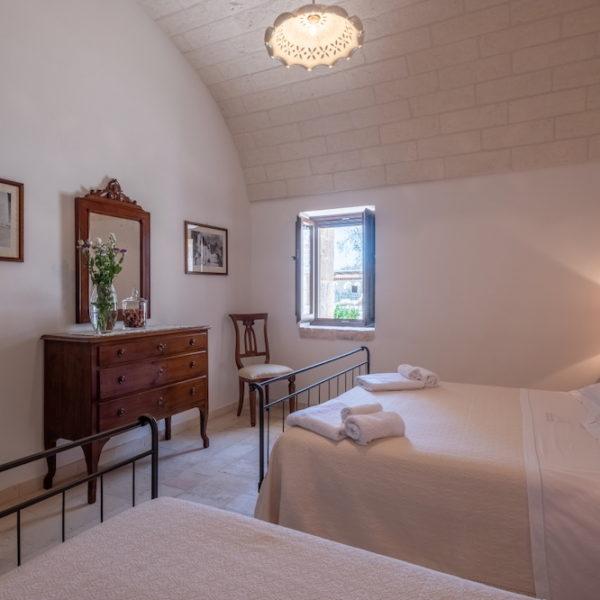 Camera tripla con bagno L'Antica Dimora - Trulli Oasi Fiorita (2)