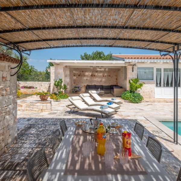 Gazebo piscina L'Antica Dimora - Trulli Oasi Fiorita (2)
