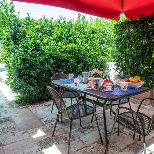 Trulli Oasi Fiorita Orchidea veranda privata