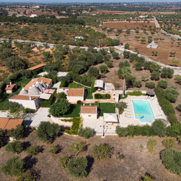 Oasi - Vista dall'alto con drone